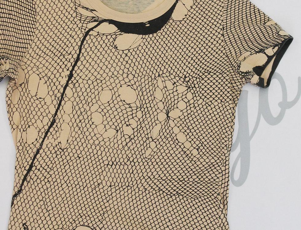 Vintage Dior Distressed Look Logo Top Galliano Era