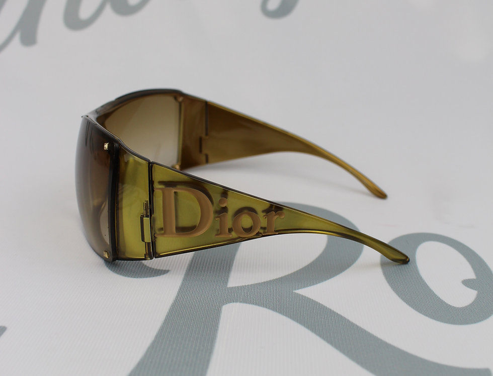 Christian Dior Chunky Side Logo Sunglasses
