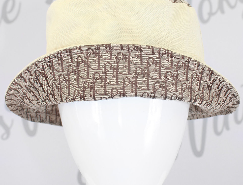 Christian Dior Trotter Diorrisimo Monogram Print Bucket Hat