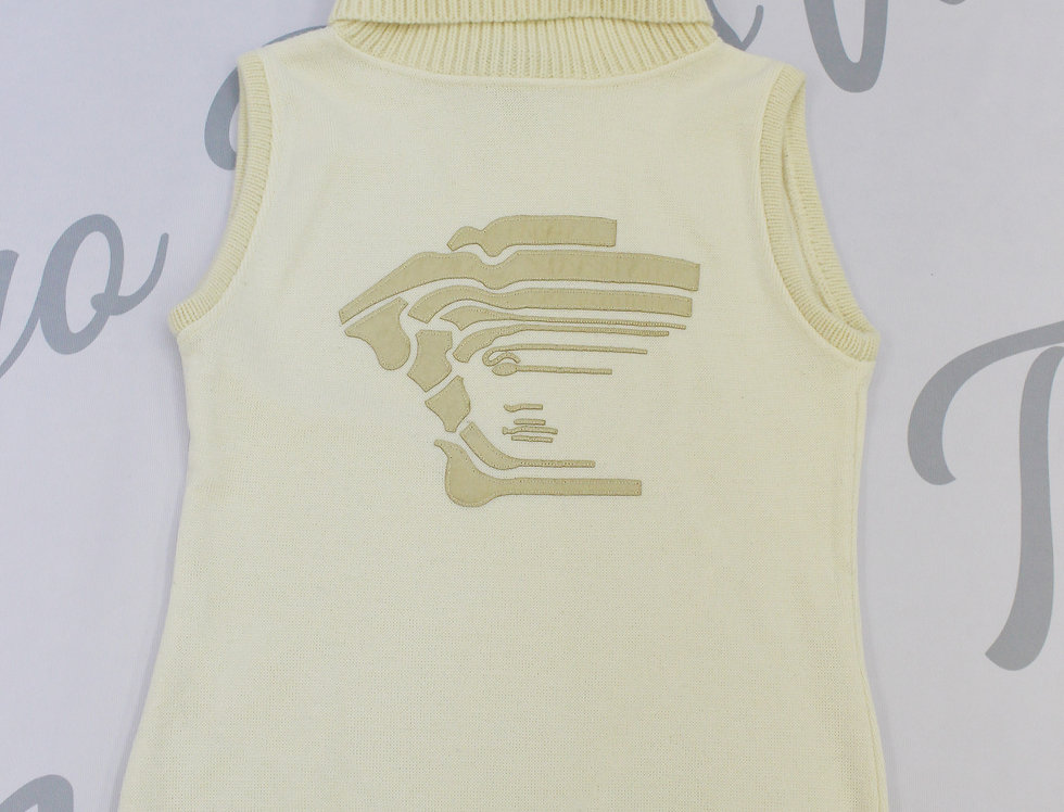 Versace Medusa Logo Turtle Neck Knit