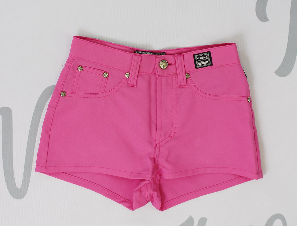 Vintage Hot Pink Versace Shorts