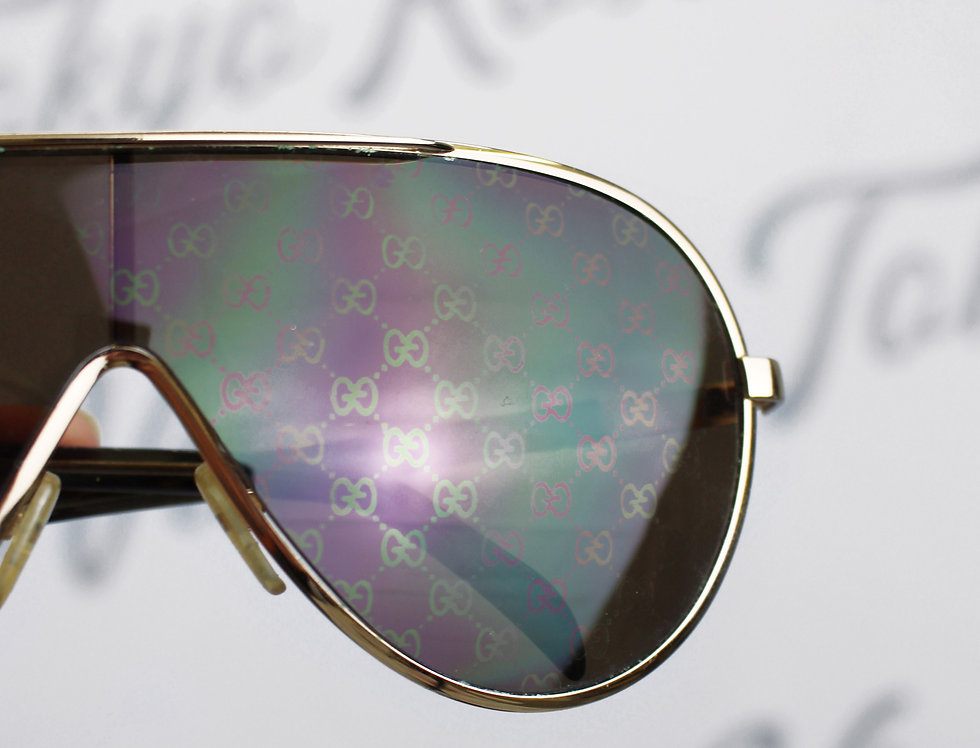 Vintage Gucci GG Logo Monogram Glasses