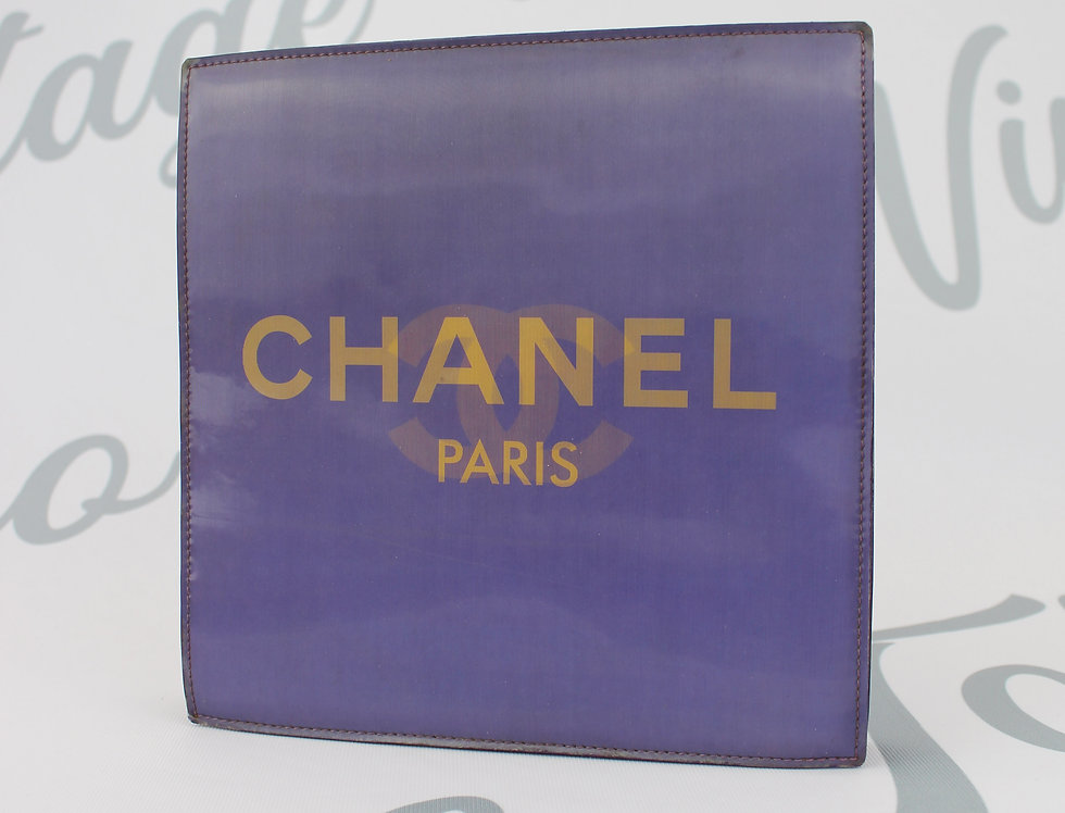 Lavender Holographic CC Chanel Bag 3D Handbag Party Bag