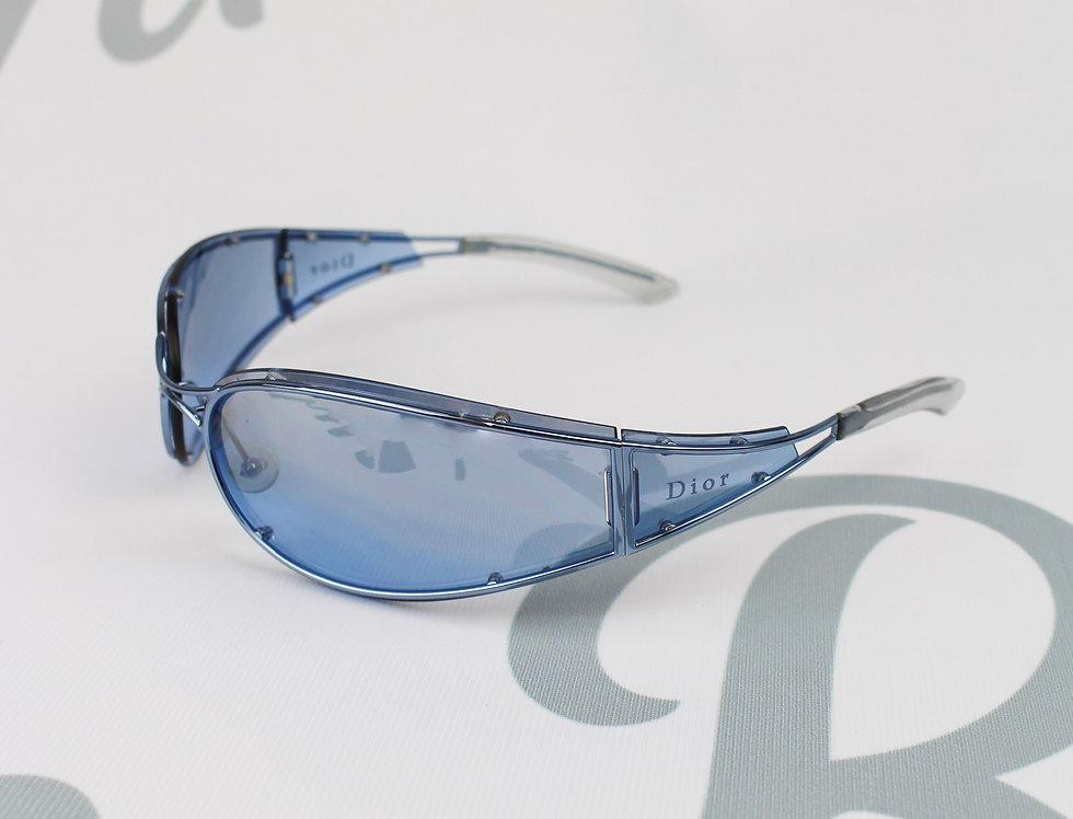 Vintage Dior Sleek Blue Glasses