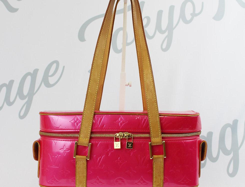 Bright Pink Louis Vuitton Vernis Bag