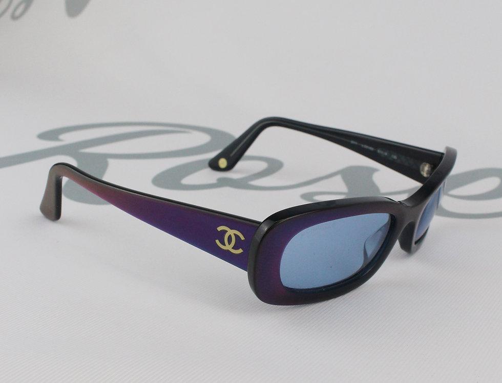 Vintage Chanel Holo Frame Sunglasses