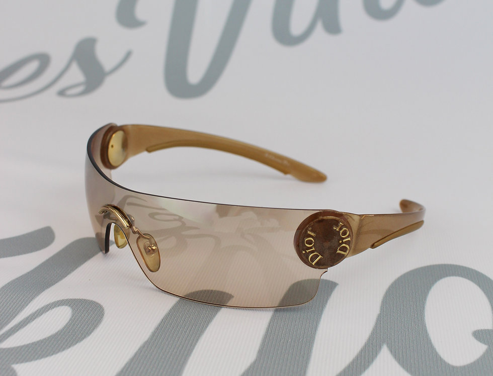 Christian Dior Folding Logo Arm Sunglasses
