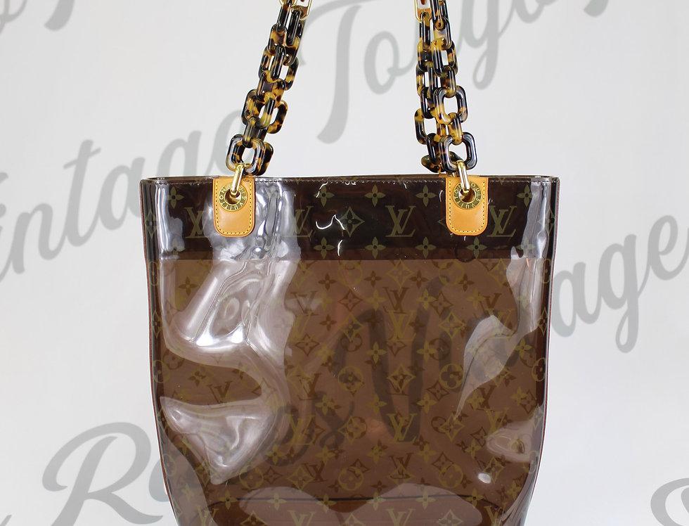 Louis Vuitton Transparent Shoulder Bag Tote