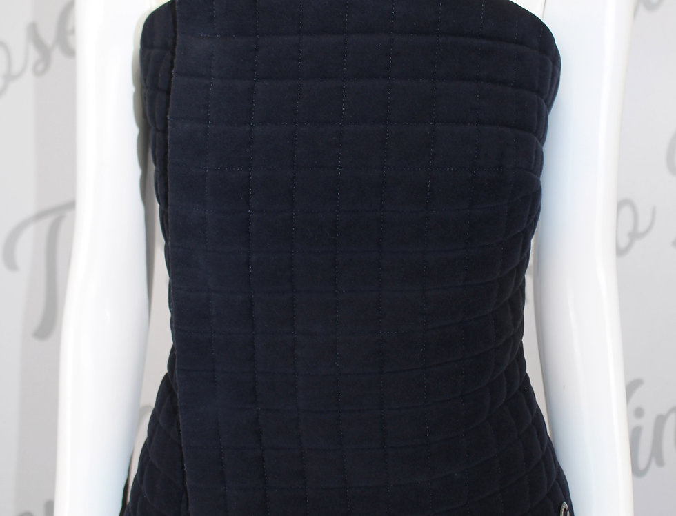 Chanel SS 2000 Quilt Abstract Bustier
