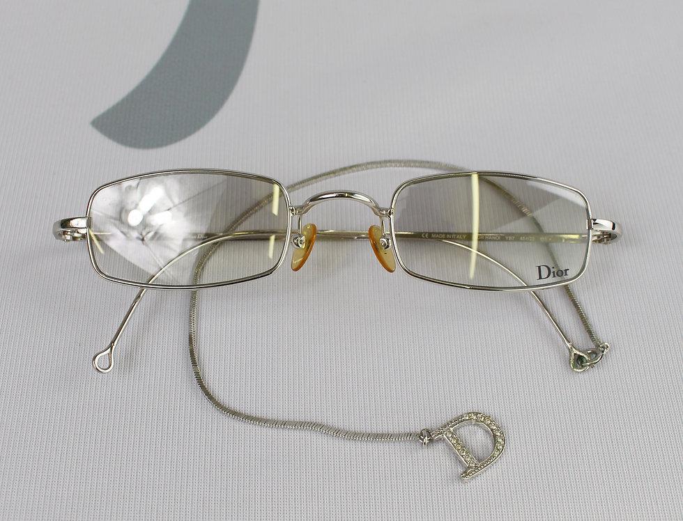 Christian Dior Charm Logo Lens Clear Sunglasses