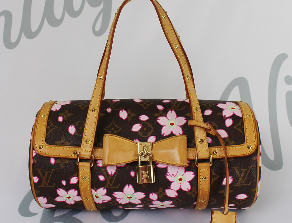 Vintage Louis Vuitton Cherry Blossom Murakami Bag