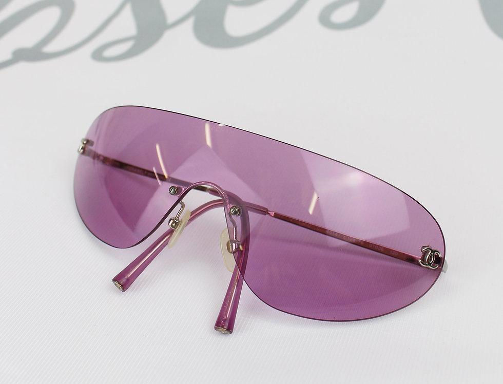 Vintage Chanel Pink Sport Glasses