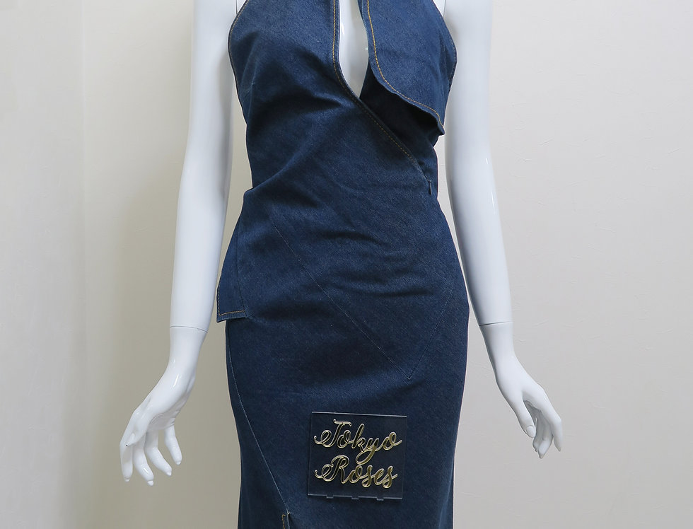 Christian Dior by John Galliano Denim Dress S/S 2000