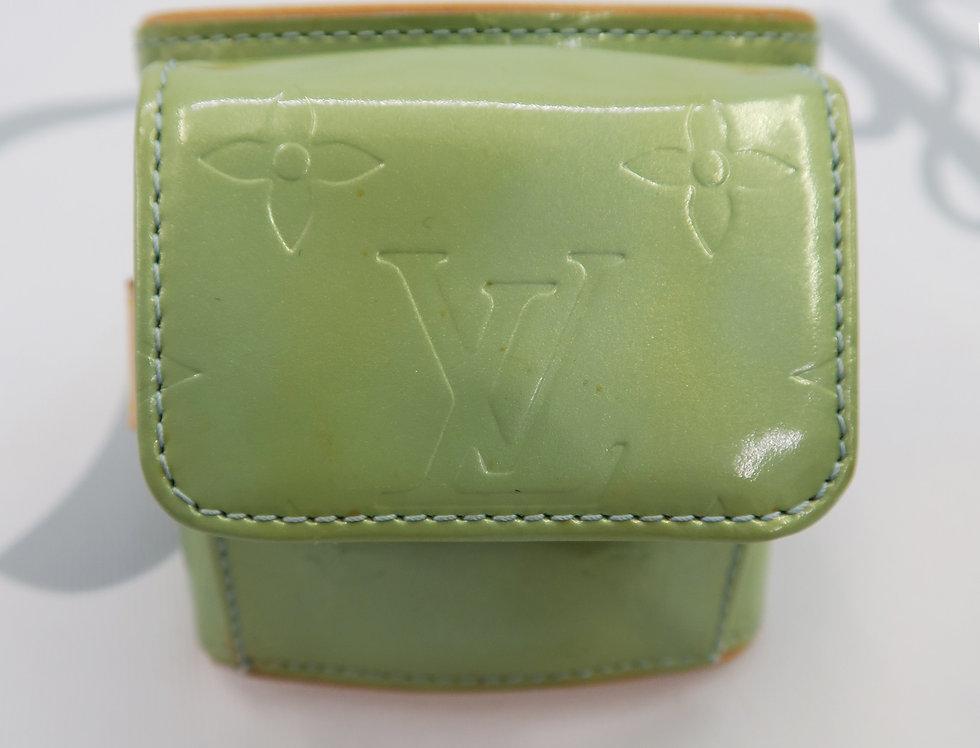 Louis Vuitton Lafayette Street Vernis Leather Bracelet Coin Case