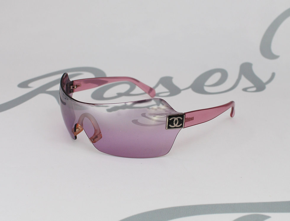 Chanel Sport Pink Shield Glasses