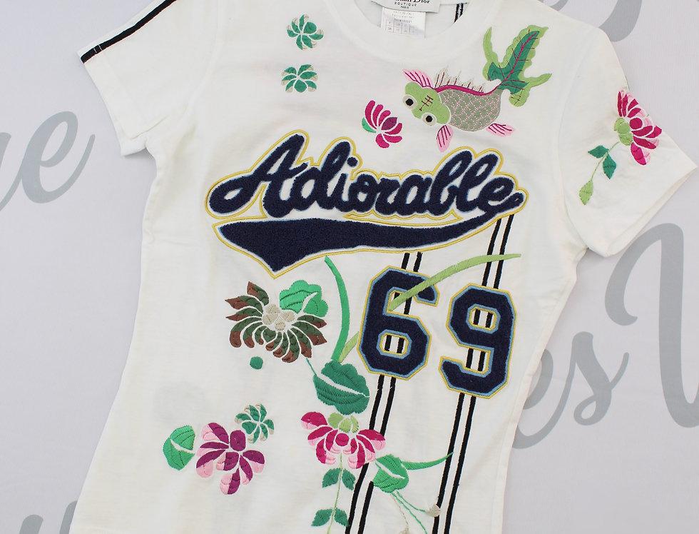 Christian Dior Adiorable White Shirt Rare