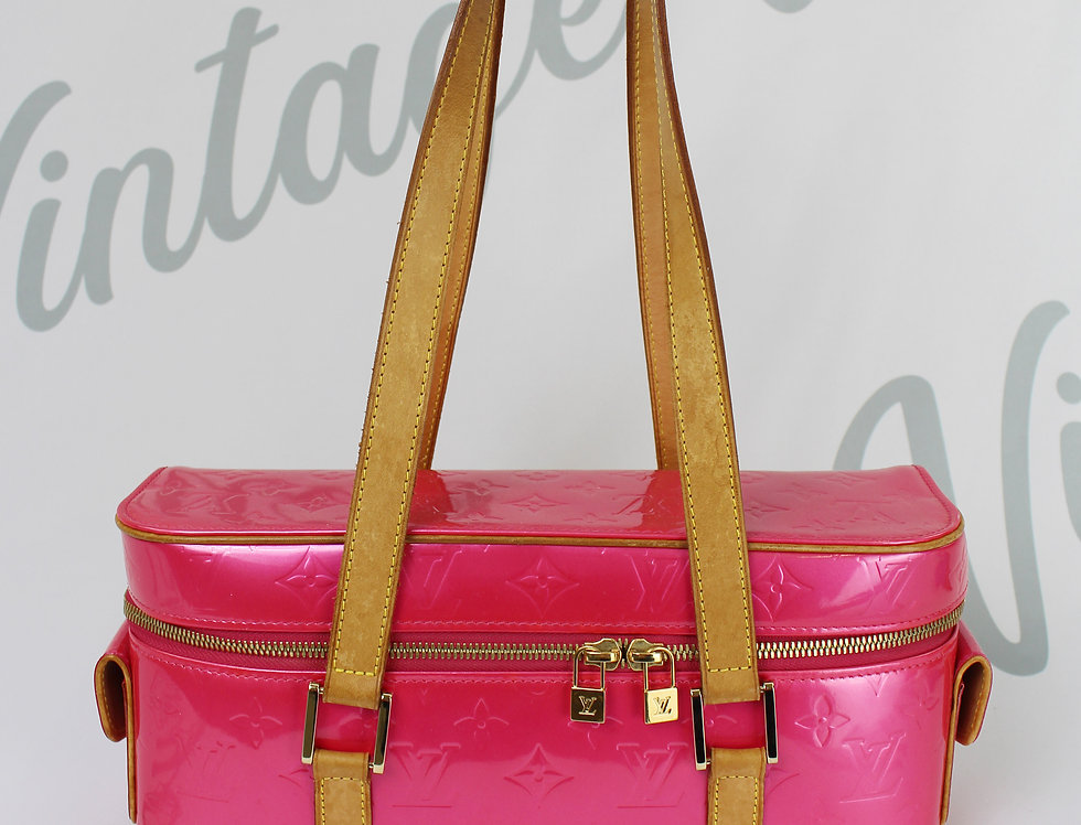 Bright Pink Louis Vuitton Vernis Bag