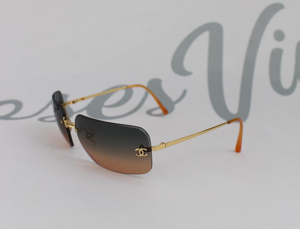 Vintage Chanel Dusk Rimless Sunglasses