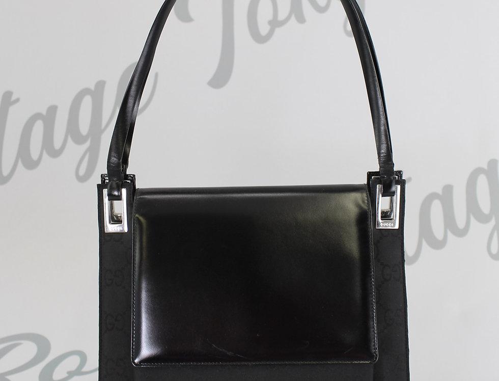 Vintage Gucci Monogram Handbag 1998 Runway