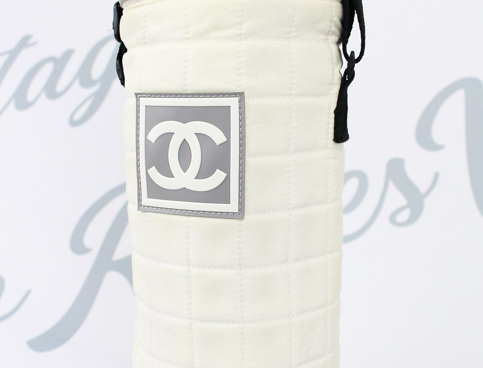 Chanel Sports Line Bottle Bag Crossbody Nylon Purse