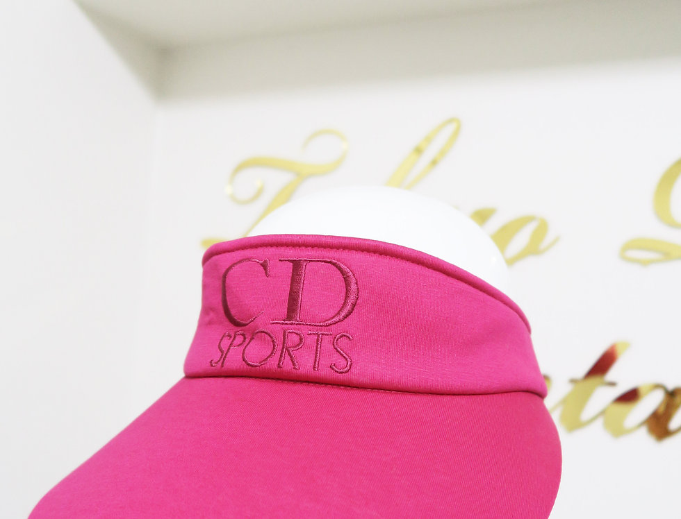 Christian Dior Sports Visor Hat CD Sport