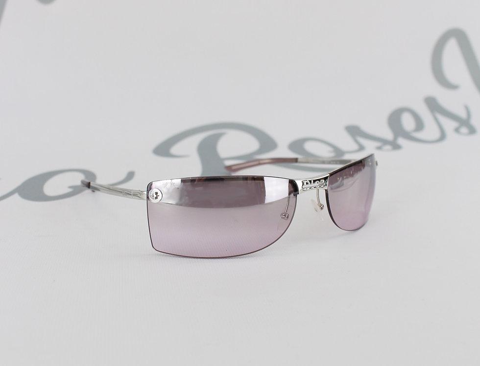 Christian Dior Purple 2000s Logo Center Sunglasses