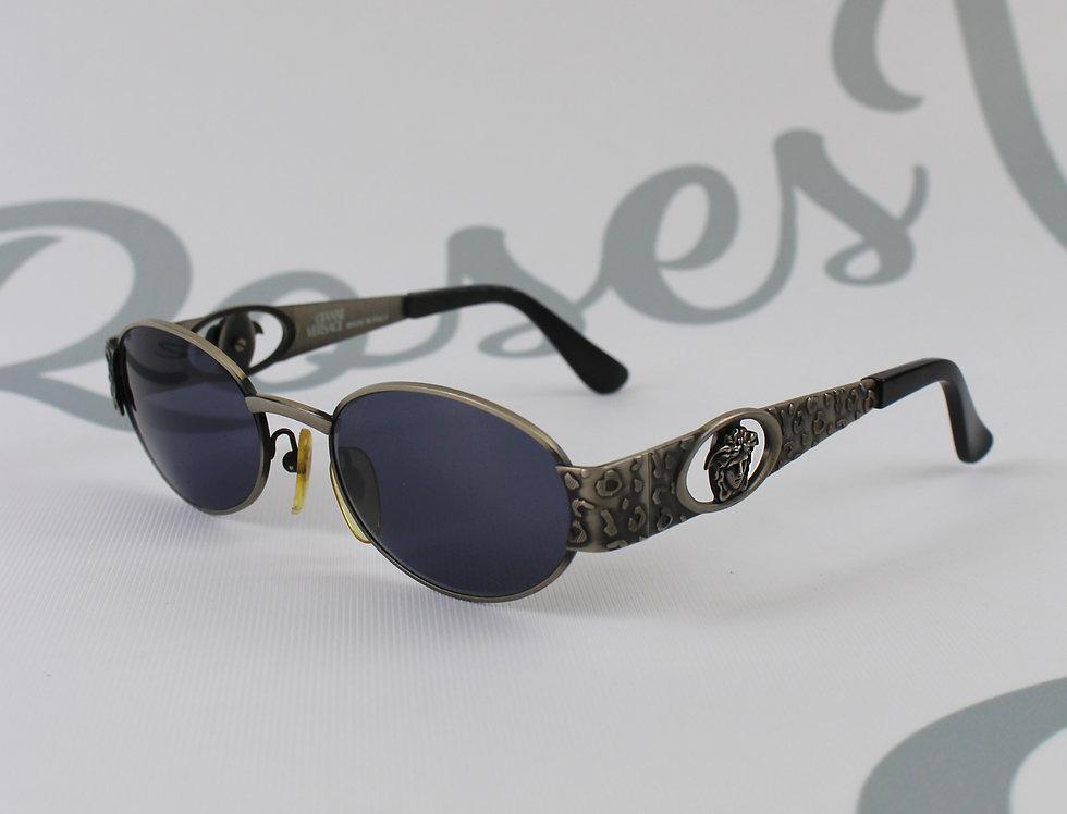 Gianni Versace Medusa Logo Side Sunglasses