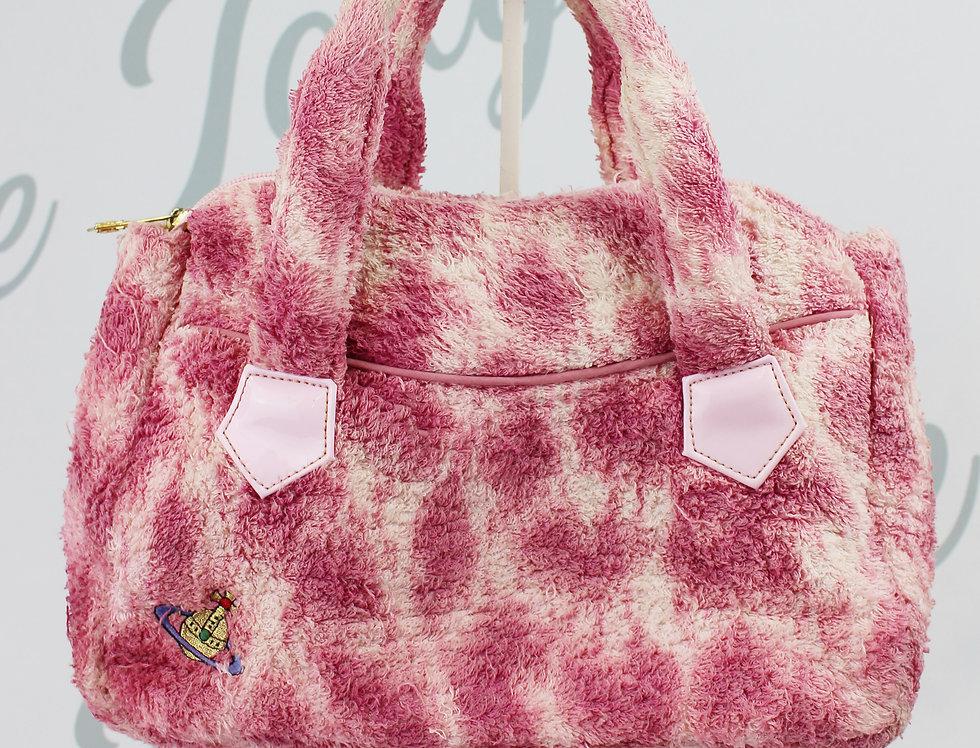 Vivienne Westwood Terry Cloth Handbag Pink