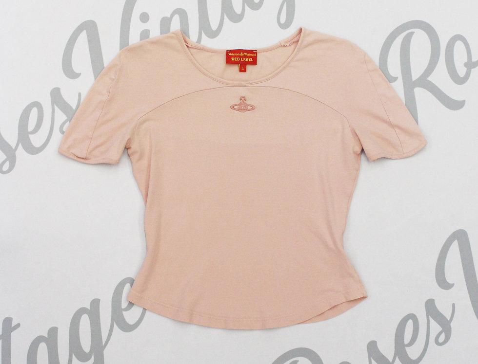 Vivienne Westwood Pink Orb Logo Shirt - L