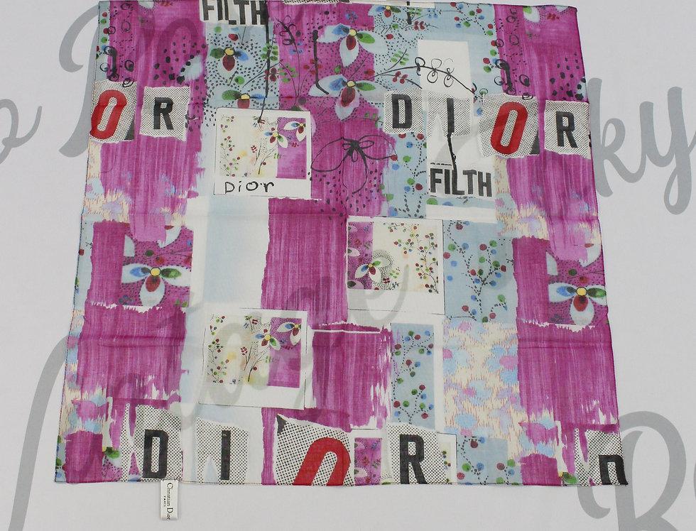 "Christian Dior ""Dior Filth"" Scarf"