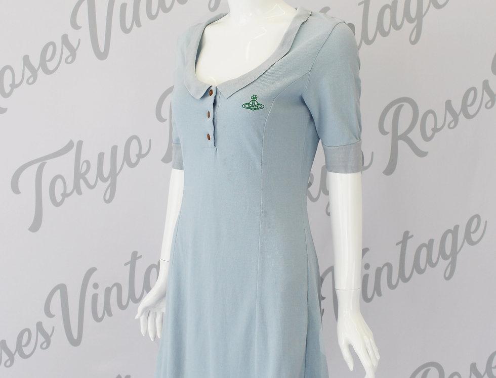 Vivienne Westwood Polo Dress Blue