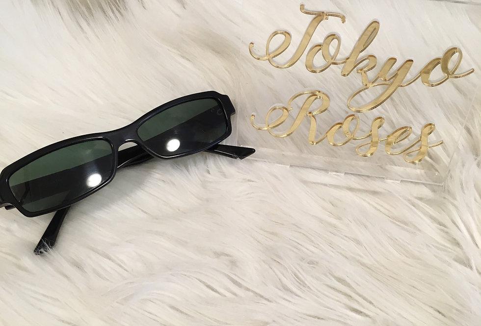 Christian Dior Rhinestone Sunglasses
