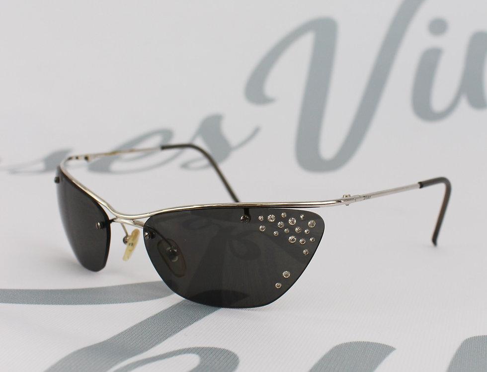 Vintage Dior Rhinestone Crystal Glasses
