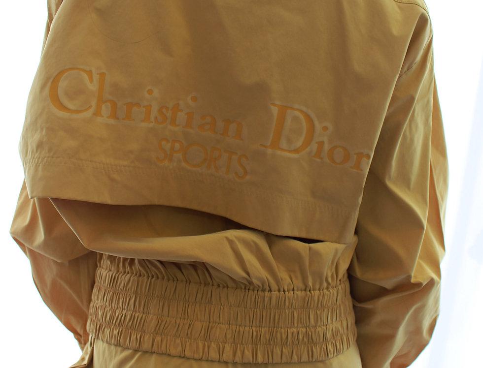 Christian Dior Sports Tracksuit Windbreaker Jacket & Pants & Hat SET