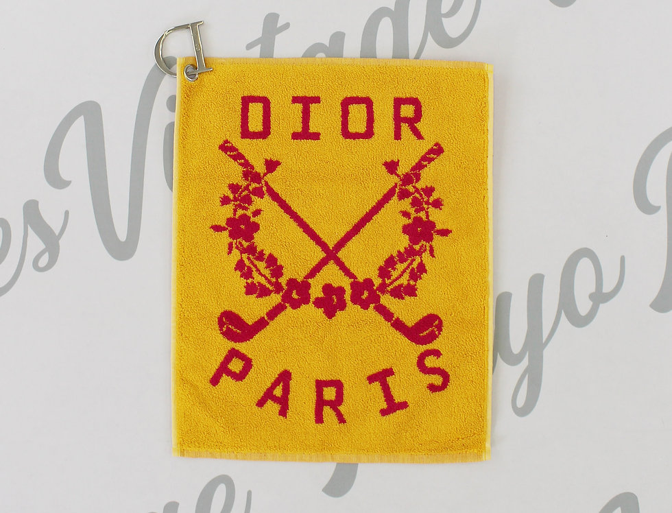 Christian Dior Belt Accessory Towel Galliano Golf Collection
