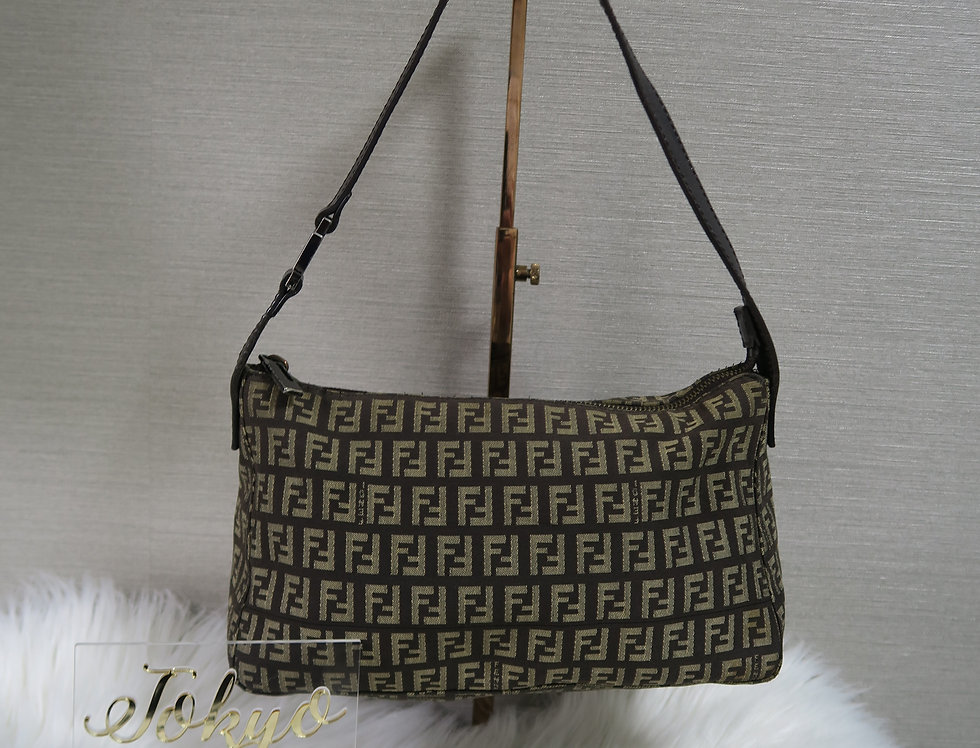 Fendi Brown Bag Zucca FF Monogram