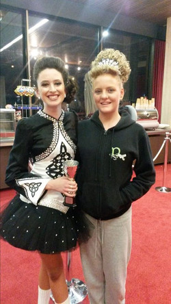 Rubie poses with Gretel after her Nationals Placing.jpg