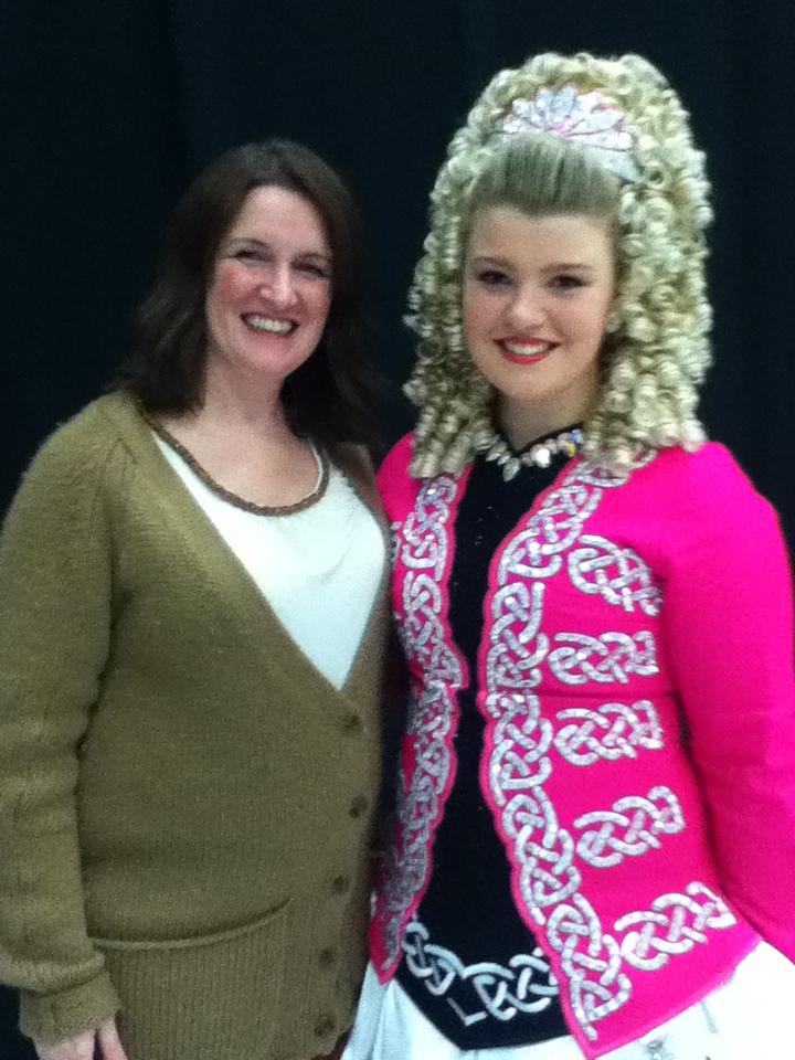 Lesley Wilson TCRG with Hannah