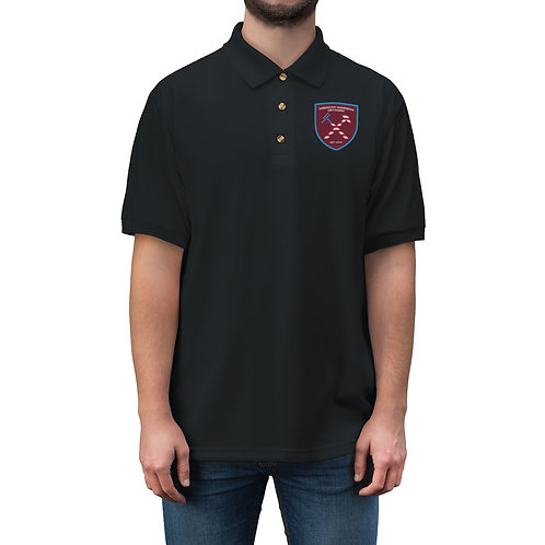American Hammers Network Men's Jersey Polo Shirt