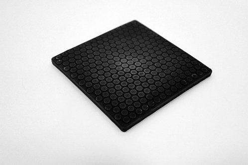 "4"" square ceramic phantom frag discs - rock hard reefs"