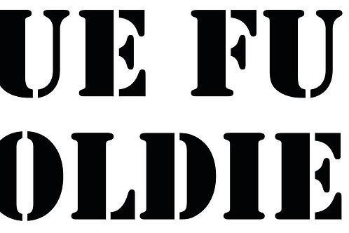 TRUE FUNK SOLDIER® Decal