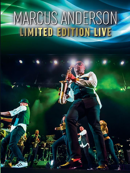 Marcus Anderson - Limited Edition Live DVD