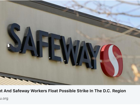 Pension Reform Key to Safeway Strike
