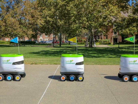 'Snackbot' Delivers On-Campus Munchies