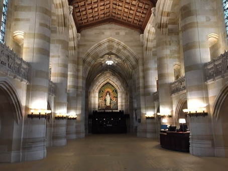 Yale Tour: Cathedral of Knowledge