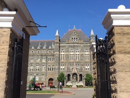 Georgetown Tour: What Rocks? Hoya Saxa!