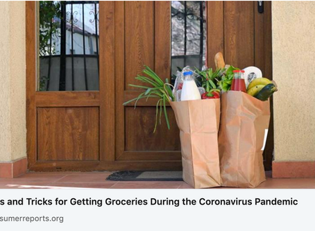Tips & Tricks for Pandemic Grocery Shopping