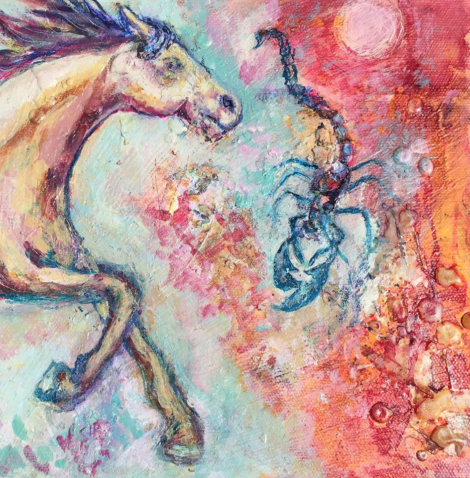 El Caballo, el Alacran, y la Herida