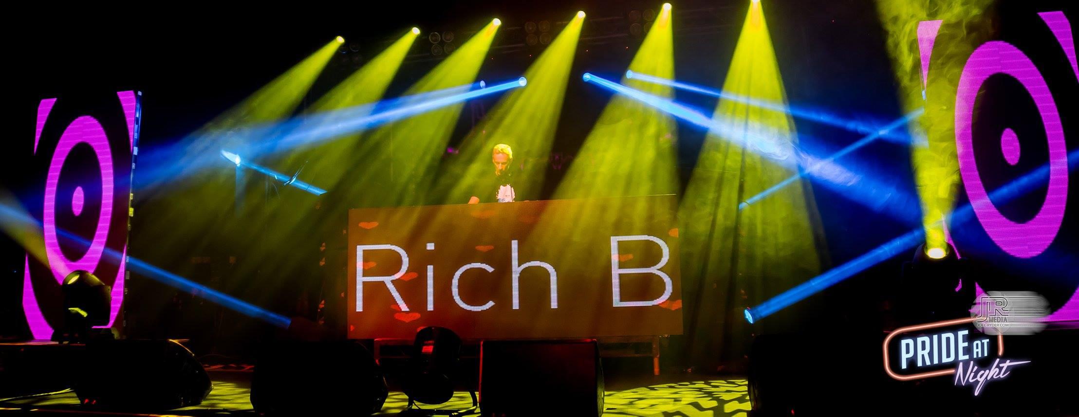 Rich B at Pride At Night June 2016 11