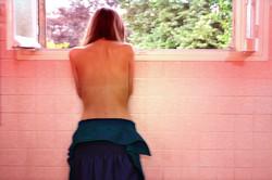 Behind Pink